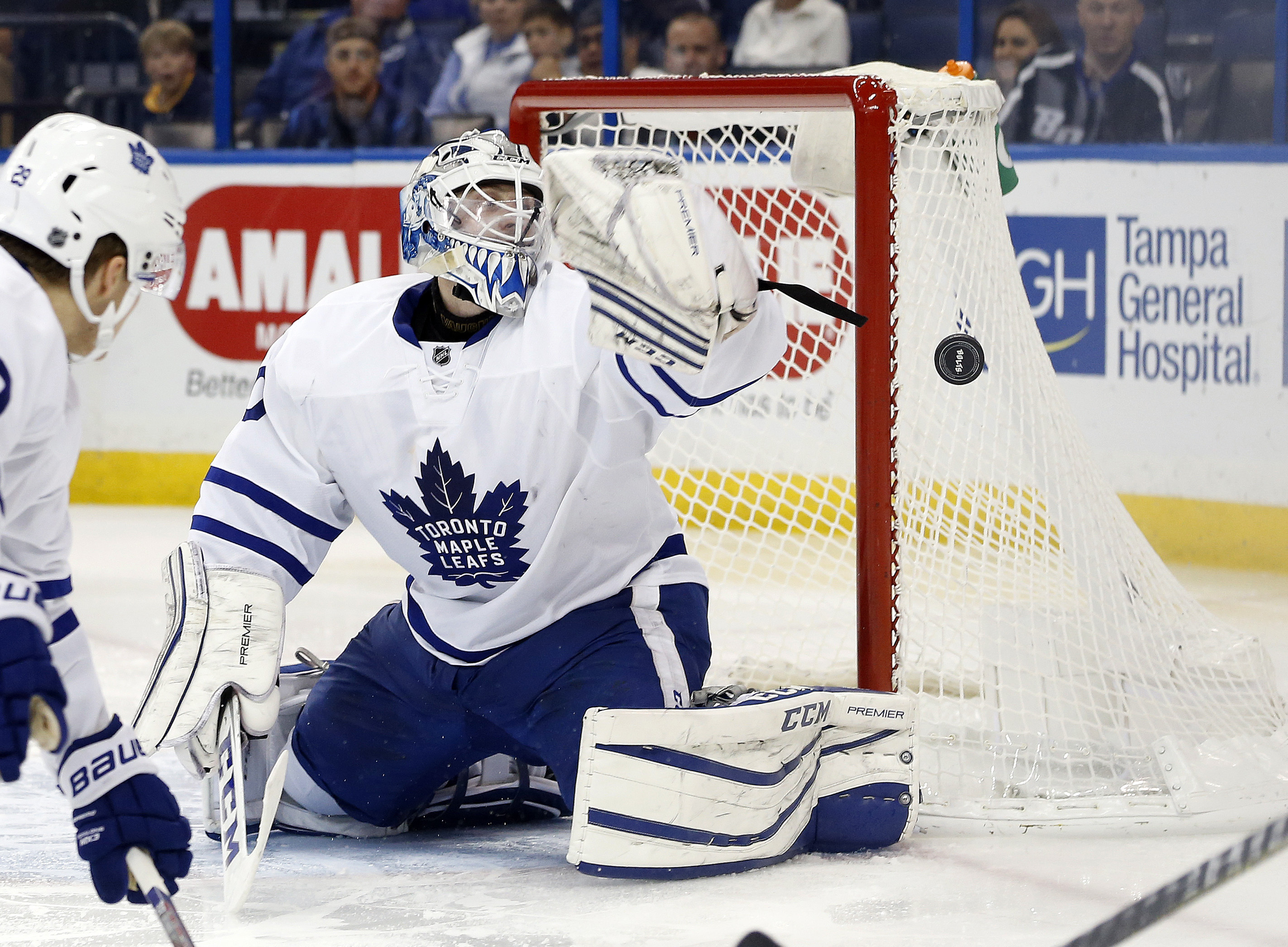 Toronto Maple Leafs Re Examining The Backup Goalie Situation
